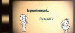 Être ou Avoir au passé compose La French Frog