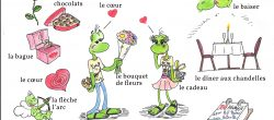 vocabulaire saint valentin