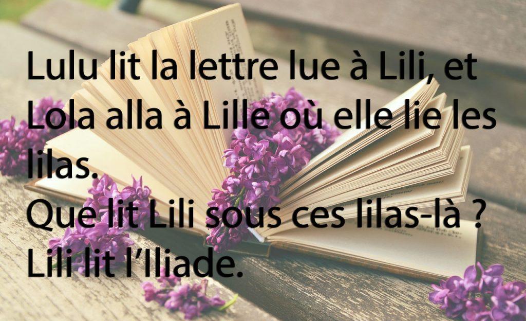 Lulu lit la lettre...